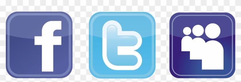Facebook Twitter Logo Clipart Best Qwbnmj Clipart - Facebook And Twitter Logos Png #240313
