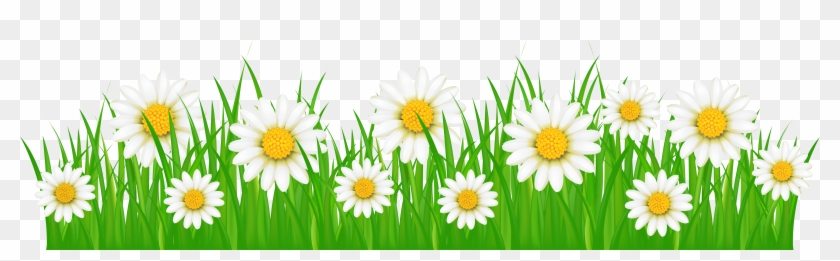 Grass With Flowers Png #240527