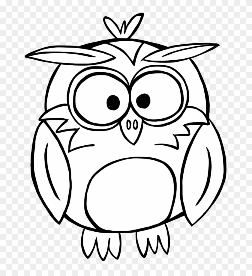 Owl Outline Cliparts