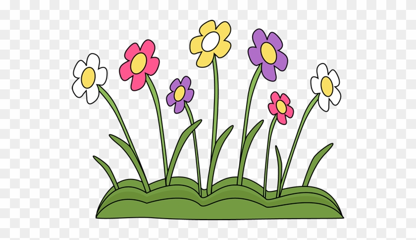 Spring Flower Clipart Free - Spring Flowers Clipart - Free Transparent PNG  Clipart Images Download