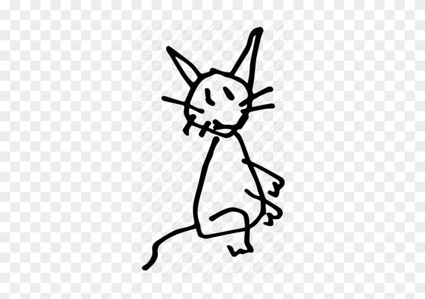 Animal, Art, Baby, Cat, Doodle, Drawing, Freehand, - Baby Cat Drawing #240975