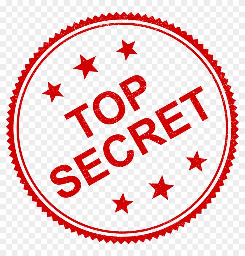 4 Top Secret Stamp Vector