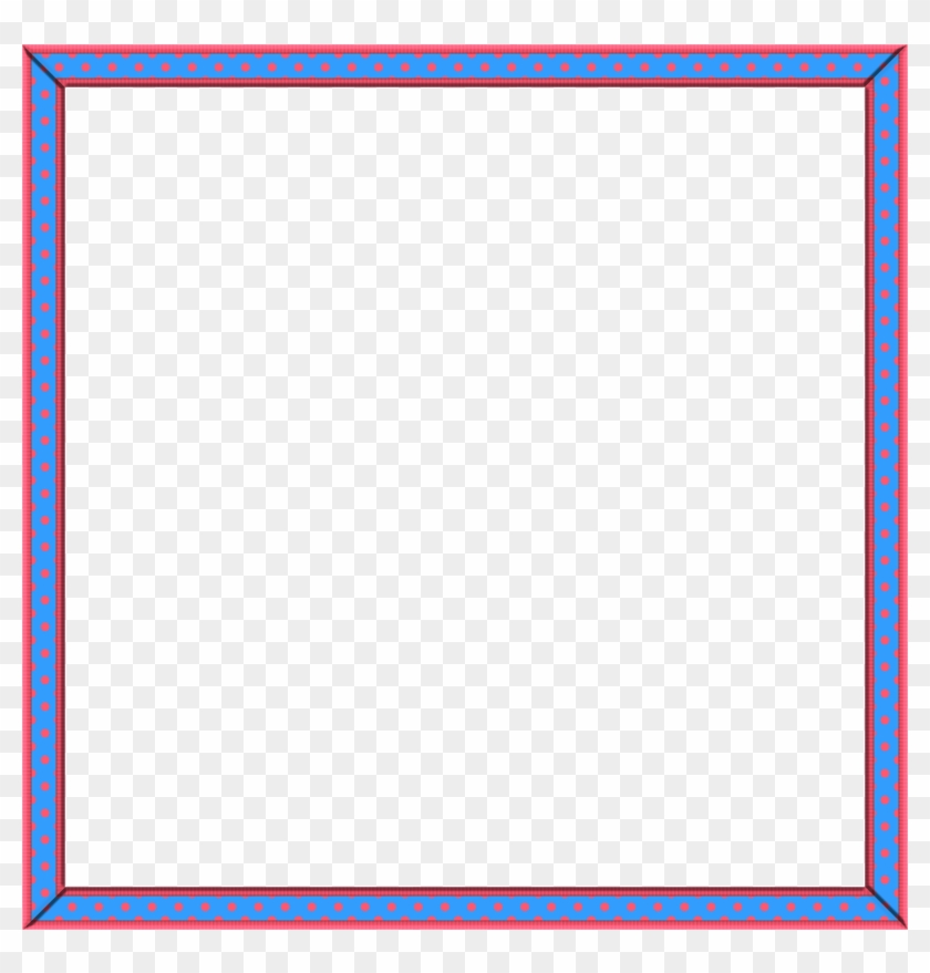 image regarding Free Printable Picture Frames and Borders identified as Cute 16 Skinny Border No cost Printable Frames Borders - Lovable