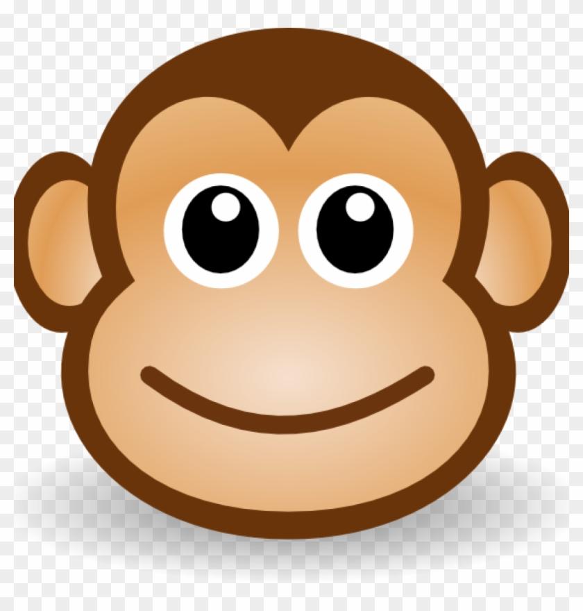Monkey Face Drawing Happy Monkey Face Clip Art At Clker - Monkey Face Cartoon Type #35946