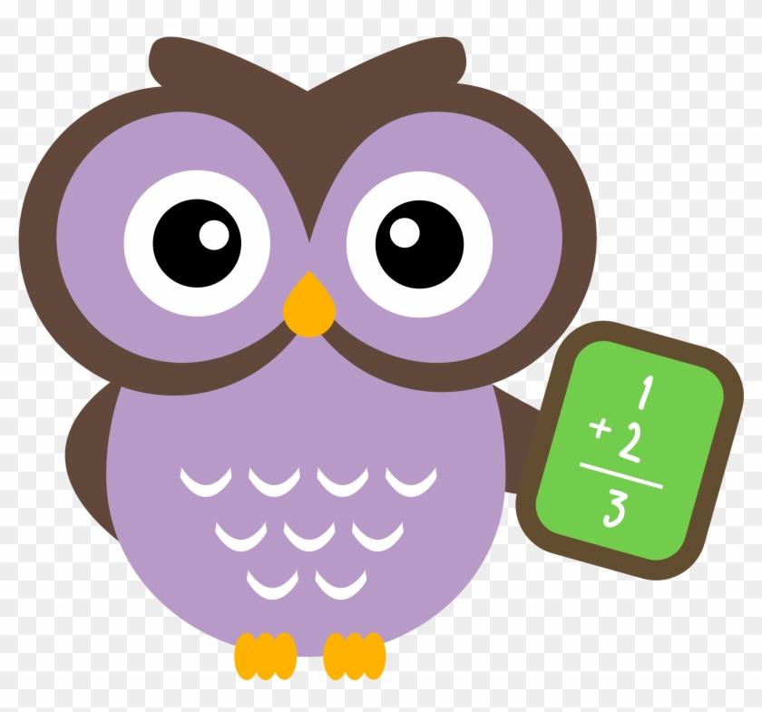 Math Clip Art - Cute Owl Clip Art #35959