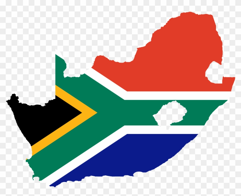 Country Clipart South Africa - South Africa Flag Country #36157