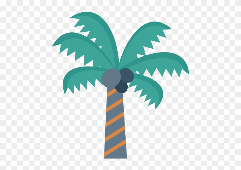Coconut Tree Free Icon - Food #36182