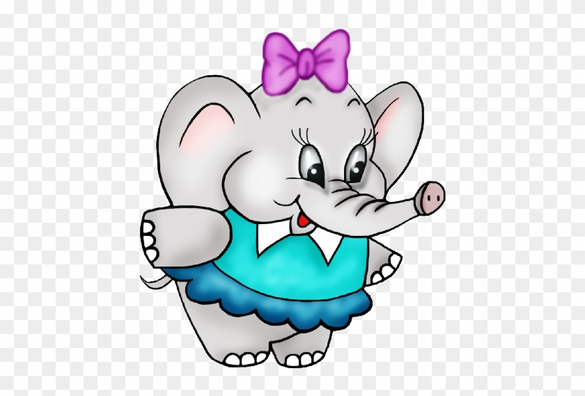 Cute Baby Elephant Clipart Free Clip Art Images - Female Elephant Clip Art #36205