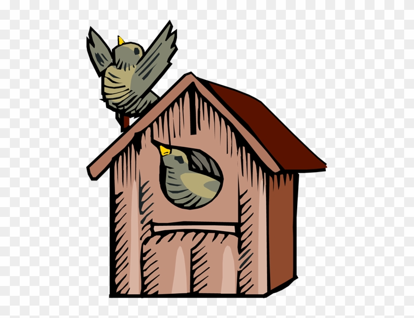Country Bird Houses Clip Art Birdhouse Clipart Free