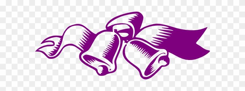 Plum Clipart Wedding - Purple Bridal Shower Clipart #36482