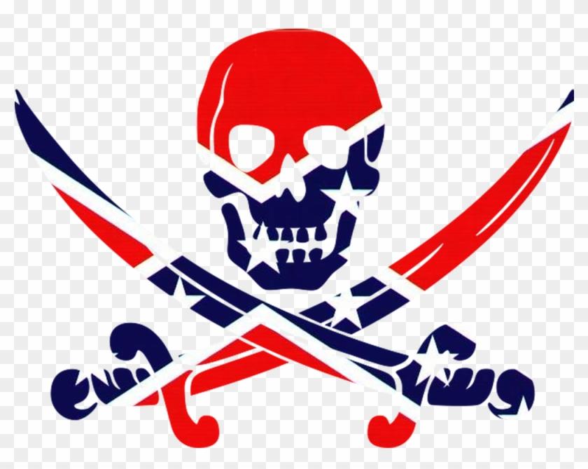 Jeremy Liggins - Black Skull And Crossbones Throw Blanket #36647