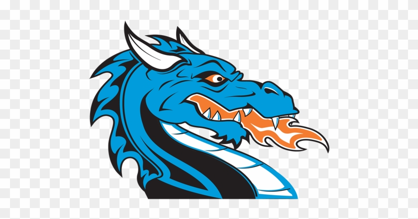 Black 0,0,0 - Dragon Mascot Logo Png #36823
