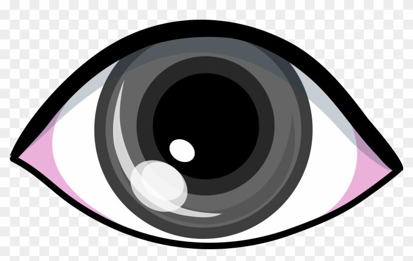 Stylist Design Ideas Eye Clipart Grey Clip Art Panda - Grey Eye Clipart #36961