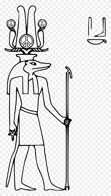 Egyptian Graphics - Egyptian God Of Peace #37063