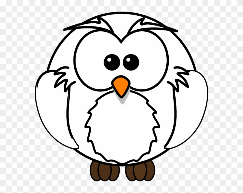 Clip Art Of Owl Black And White #37214