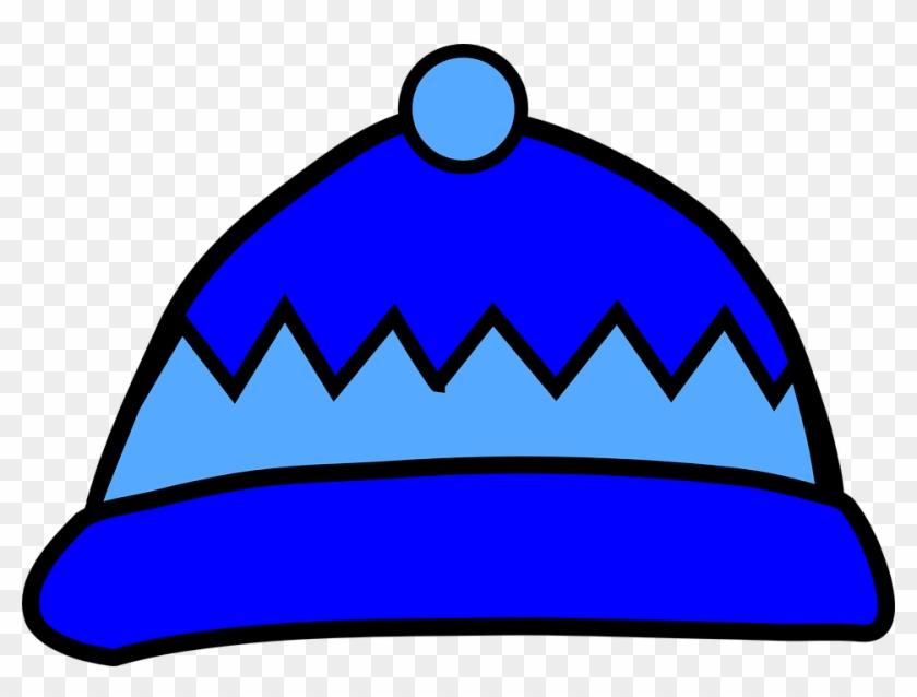 Hat Snow Clipart, Explore Pictures - Blue Winter Hat Clip Art #37290