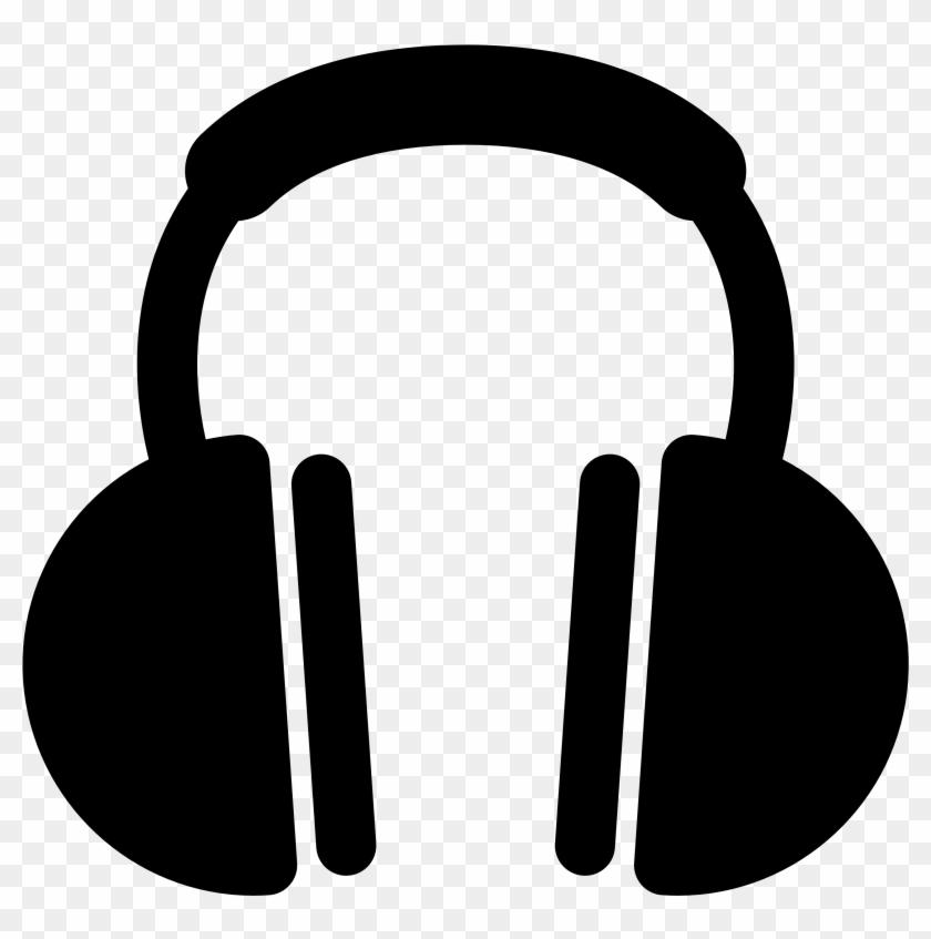 Headphone Clipart Free - Headphones Vector #37345