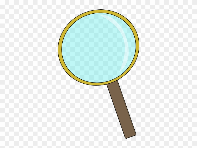 Gold Magnifying Glass - Magnifying Glass Science Clipart #37473