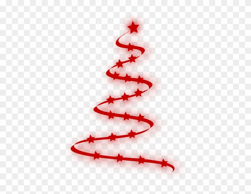 Red Christmas Tree Clip Art At Clker - Red Christmas Tree Png #37569
