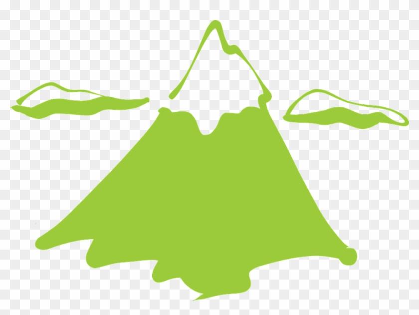 Mountain Snow Clouds High Invincible Forever - Mountain Clip Art #37594