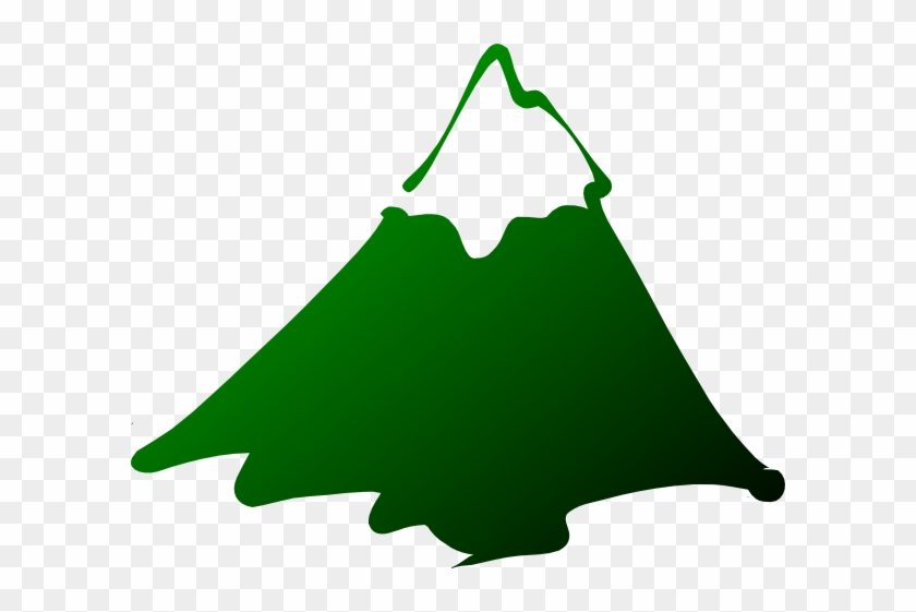 Black And White Mountain Clipart #37621