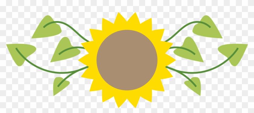 Beautiful Sunflower Clipart - Clipart Of Sunflower Png #37738