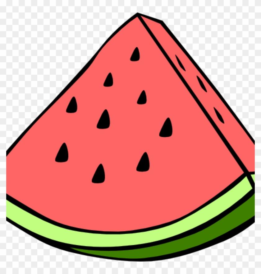 Watermelon Clipart Watermelon Clip Art At Clker Vector - Watermelon Clip Art #37818