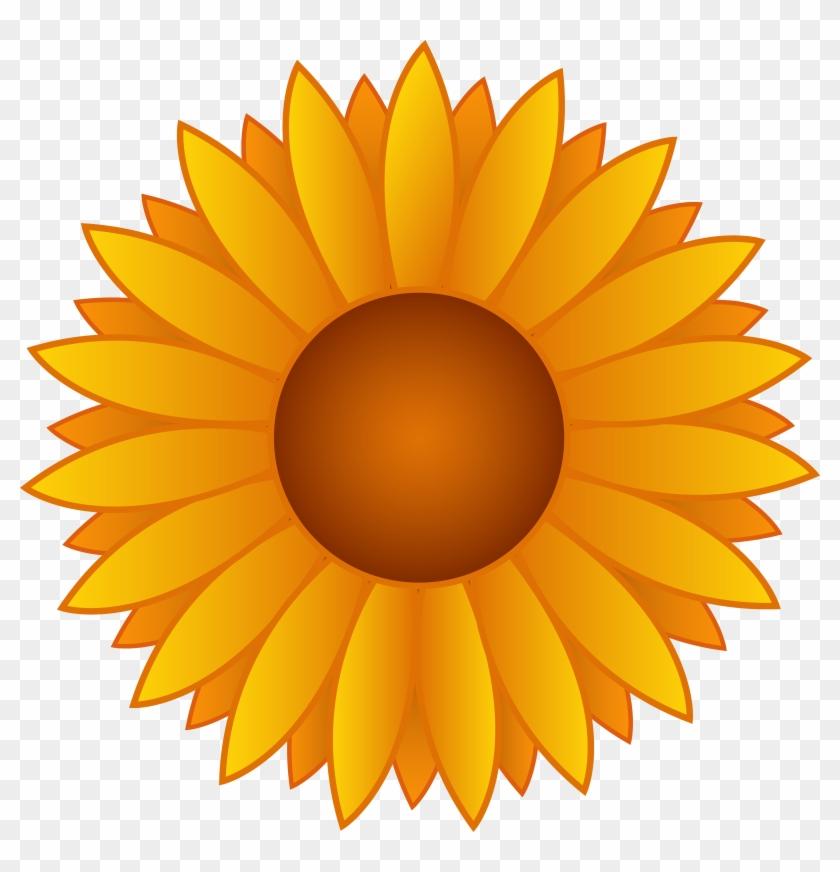 Beautiful Sunflower Clipart - Sunflower Clipart #37881