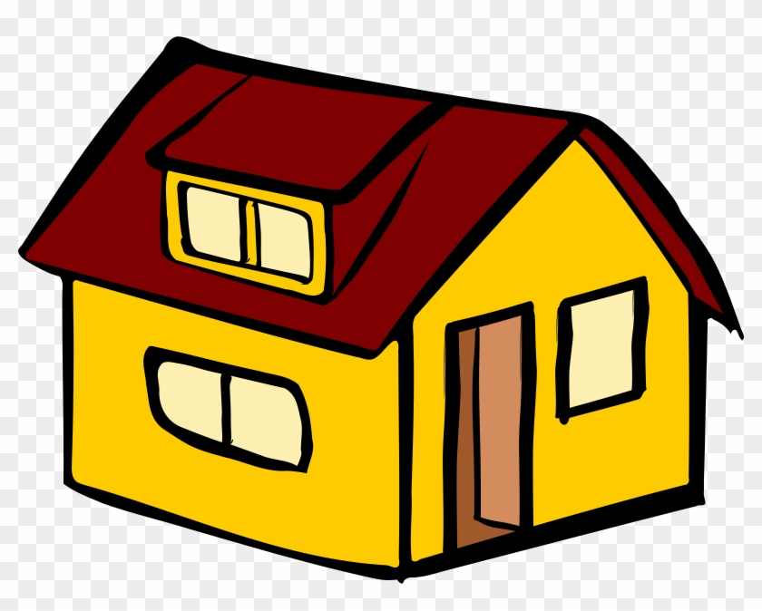Clipart - Yellow House Clipart #37880
