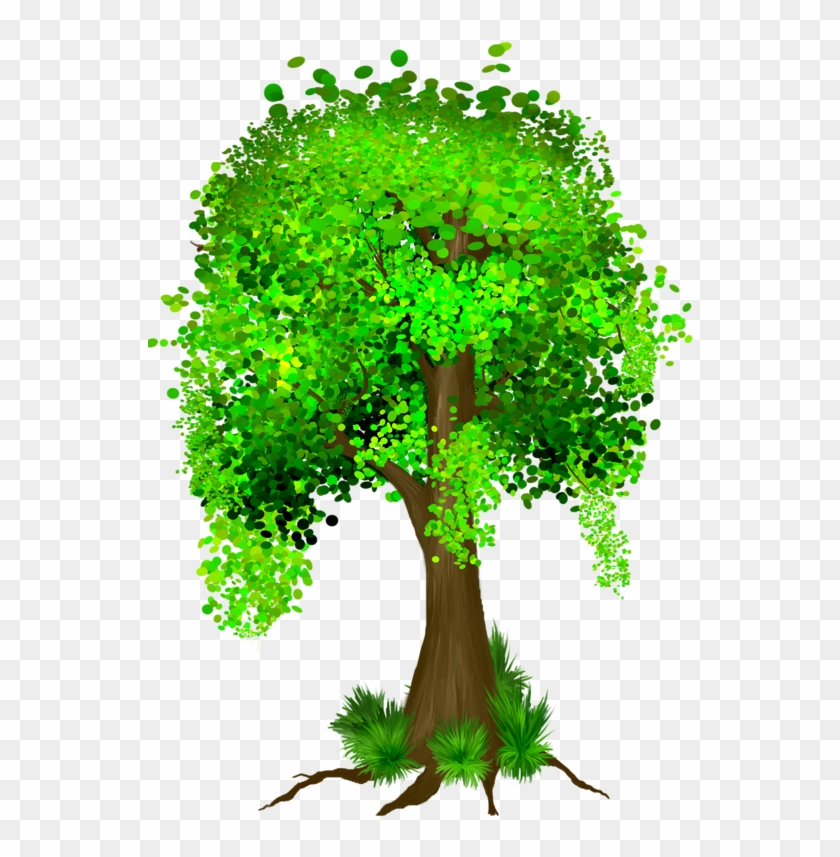 Tree, Tubes, Png - Full Money Tree Clipart #37895