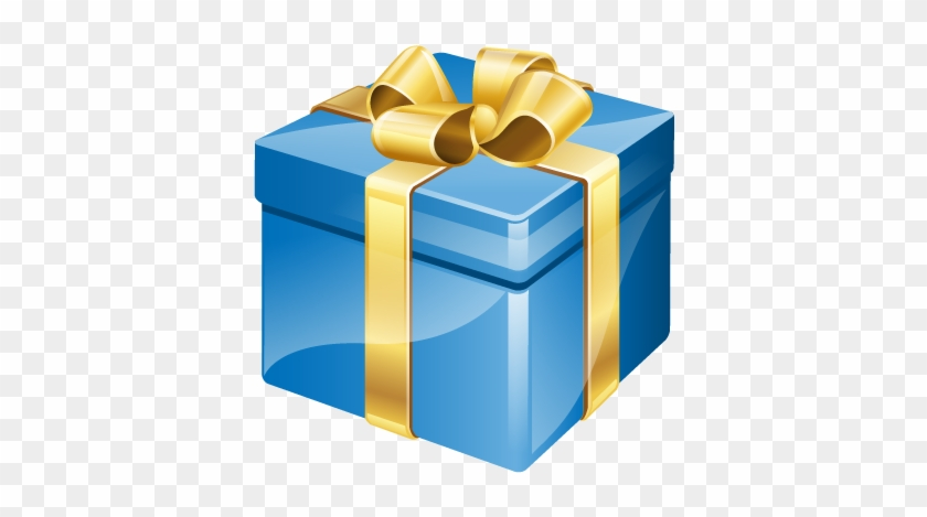Present Clipart Png - Birthday Present Png #37921