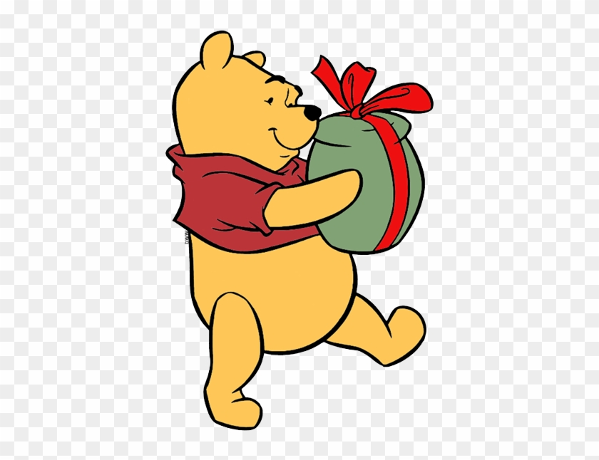 tigger christmas lights winnie the pooh present pooh with a present