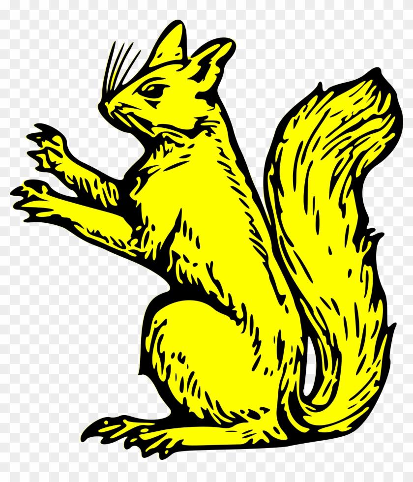 Big Image - Squirrel Coat Of Arms #38376
