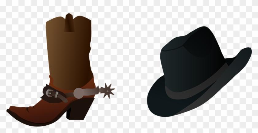 Cowboy Boot Clip Art #38470
