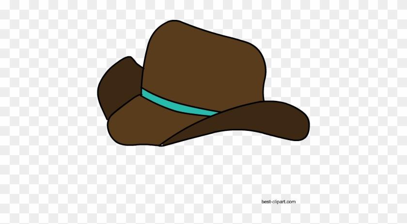 Free Western Cowboy Hat Png Clip Art Image - Cowboy Hat #38512