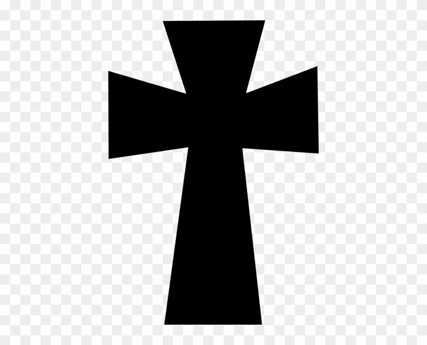 Cross Clipart Black And White Png #38578
