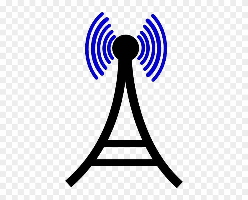 Free Clipart Cell Tower - Cell Phone Tower Clipart #38653