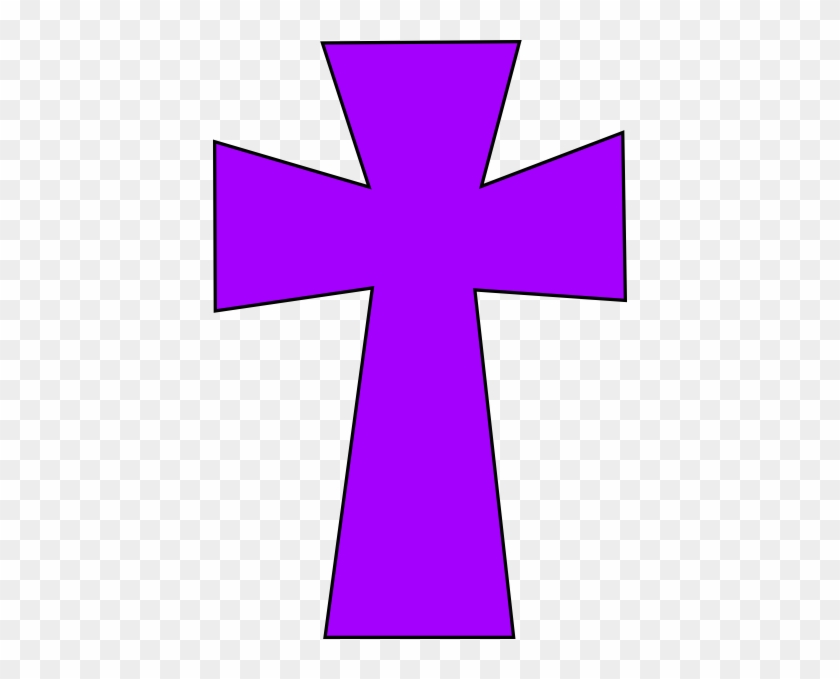 Purple Cross #38661