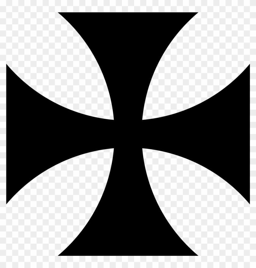 Cross Pattee Heraldry - Cross Pattee #38682