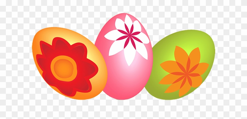 Happy Easter Banners Images Happy Easter Eggs Clipart - Easter Eggs Transparent Background #38696