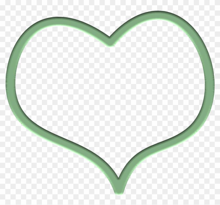 Clipart Info - Green Heart Clip Art #38705