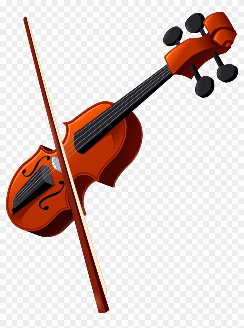 Violin Transparent Free Images Only Cliparts - Violin Clipart - Free