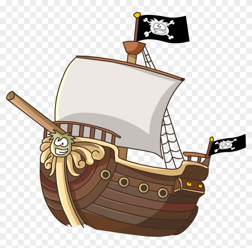 Ship Clipart Transparent Background - Pirates Of The Curry Bean Ship #38846