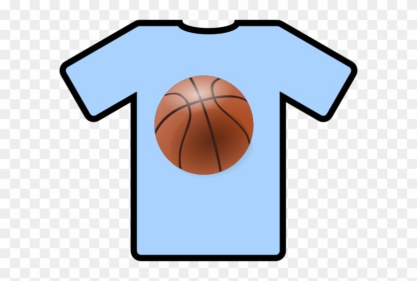 Blank Basketball Jerseys Clip Art - T Shirt Clip Art #38909