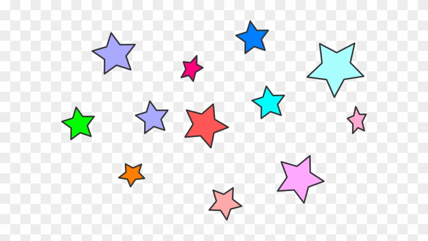Star Clipart - Cluster Of Stars Clipart #38959