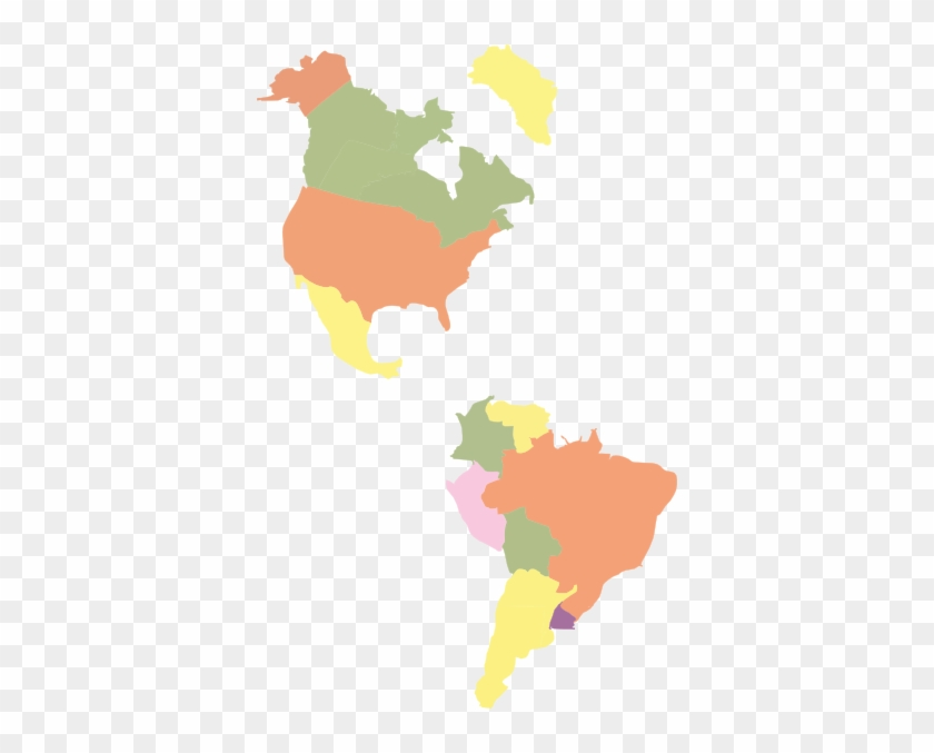 Map Of America Clipart.Map Of The Americas Clip Art Sprint Coverage Map Mexico Free
