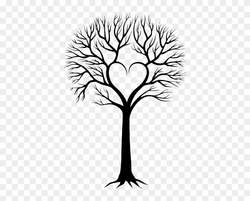 Http - //www - Clker - - Svg - Hi - Tree Drawing Family Tree #38985