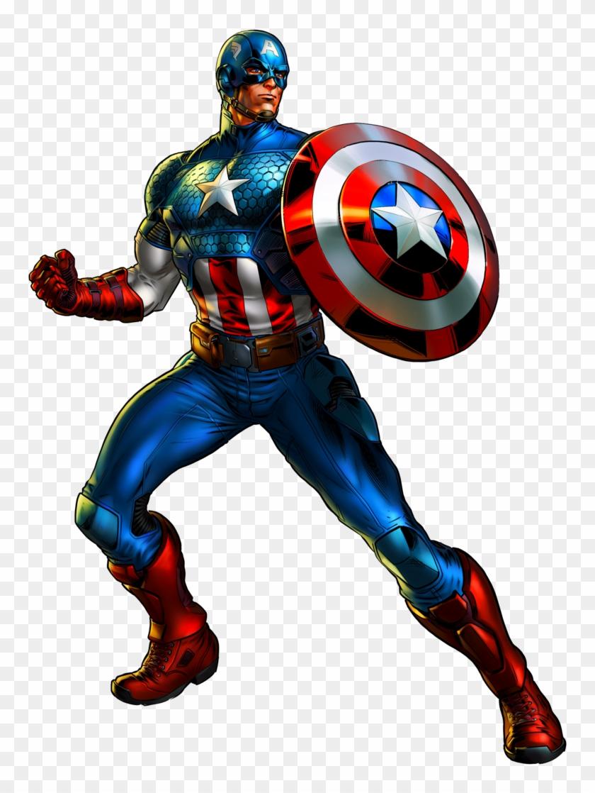 Marvel Clip Art - Marvel Avengers Captain America - Free