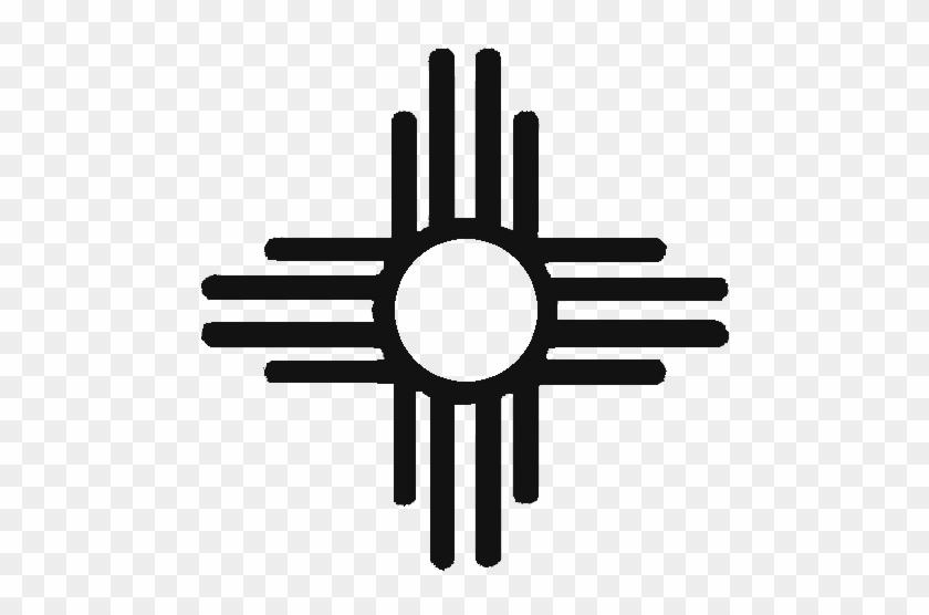 Native American Symbols Clip Art - Native American Sun Symbol #39175