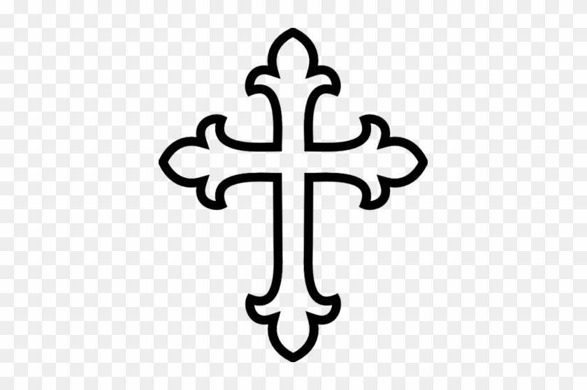 Celtic Cross Clipart - Cross Clipart Black And White #39257